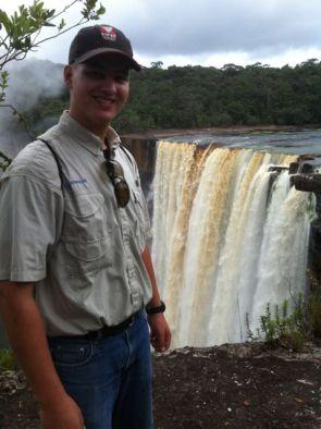 Jake at the falls